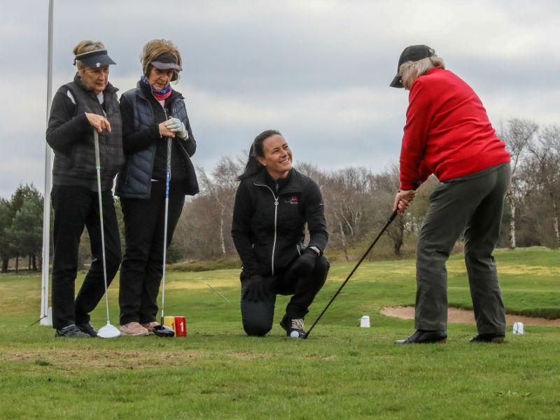 Group Golf Coaching
