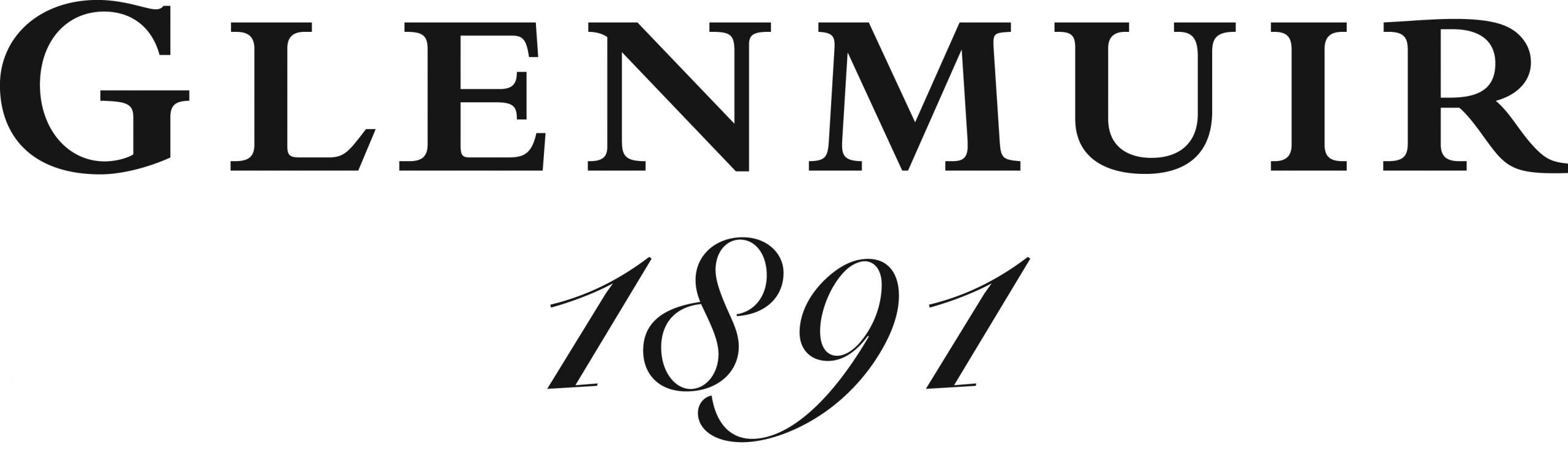 Glenmuir 1891 Script Logo large